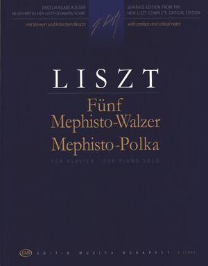 Fnf Mephisto-Walzer - Mephisto Polka Piano