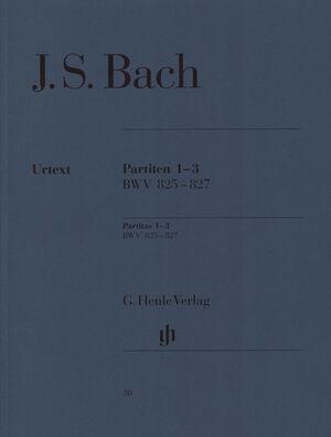 Partitas 1-3 BWV 825-827