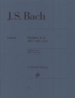 Partitas 4-6 BWV 828-830