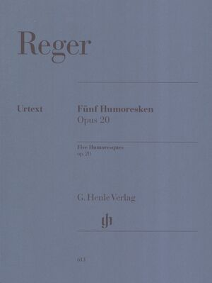 Five Humoresques for Piano op. 20