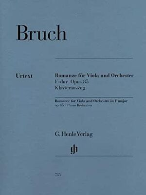 Romance for Viola and OrchestraF major op. 85