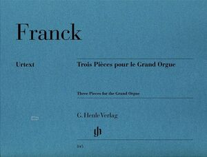 3 Pieces for the Grand Orgue
