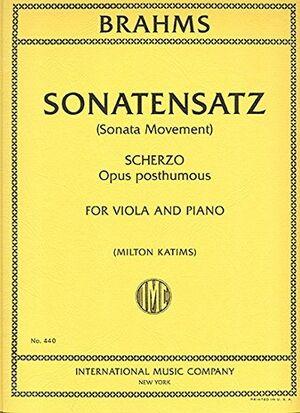 Sonatensatz (Scherzo) op.posth.