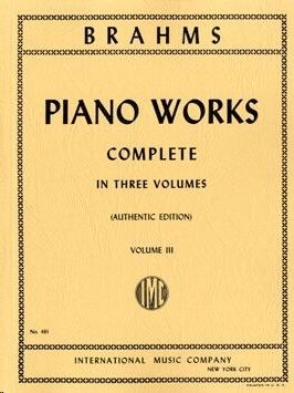 Complete Piano Works Volume 3