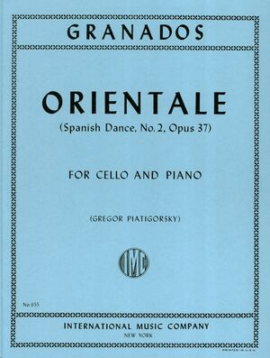 Orientale (Spanish Dance, n.2, Op 37)