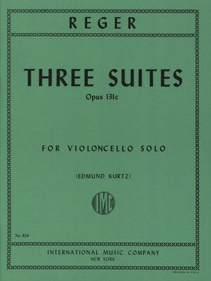 THREE SUITES OP131c S.Vc