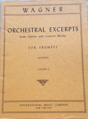 Orchestral Excerpts Volume 1 Vol. 1