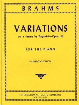 28 Variations A minor on a theme by Paganini op.35