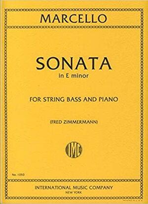 SONATA E Minor FOR STRING BASS AND PIANO