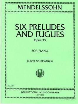 Six Preludes & Fugues op.35
