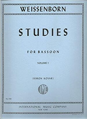 STUDIES FOR BEGINERS Book 1 Op.8 FOR BASSON