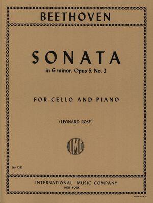 Sonata G Minor Op.5 No.2