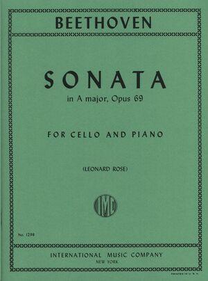 Sonata No.3 A Major Op.69