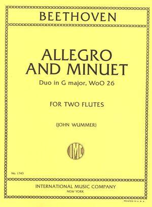 ALLEGRO & MINUET G Maj 2 Fl