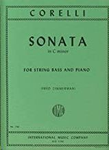 SONATA C Min OP5/8 FOR STRING BASS AND PIANO