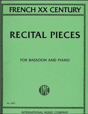 French 20th Century Recital Pieces