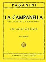 La Campanella op.7 VIOLIN PIANO