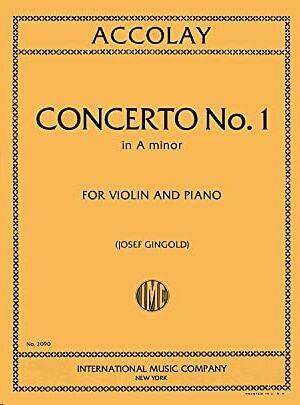 Concerto No.1 A minor