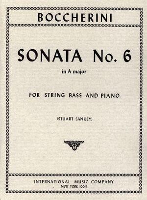 SONATA NO.6 A Maj Kb Pft