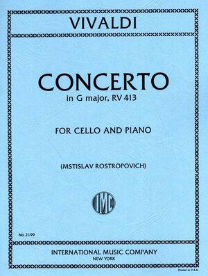 Concerto in G Major RV413