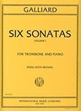 Six Sonatas Volume 1 Vol. 1 for trombone and piano