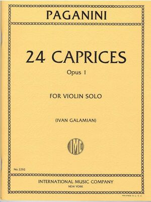 24 Caprices op. 1 VIOLIN