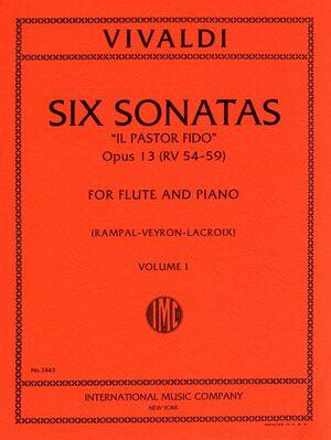 SIX SONATAS VOL.1 Cmaj/Gmaj Fl