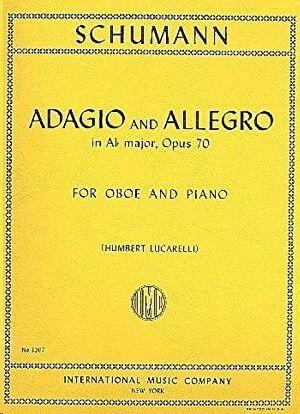 ADAGIO & ALLEGRO Abmaj Op70 Ob