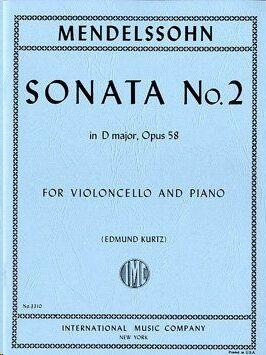 SONATA No.2 Dmaj Op58 Vc Pft