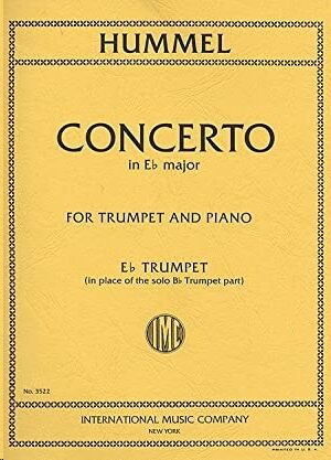 Concerto E flat major FOR TRUMPET AND PIANO