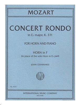 CONCERT RONDO K.371 K.371