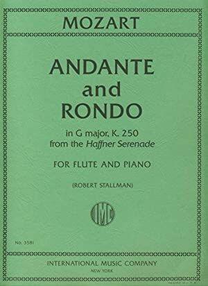 ANDANTE & RONDO FROM HAFFNER SERENADE K.250