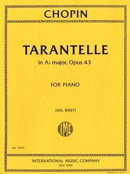 Tarantelle A flat Major Op.43