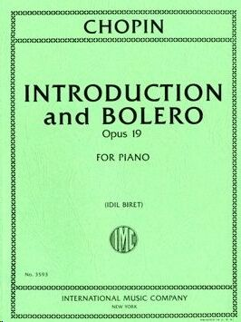 Introduction and Bolero Op.19