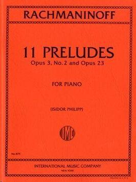 11 Preludes op. 23 & op. 3/2