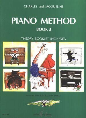 Piano method book 3