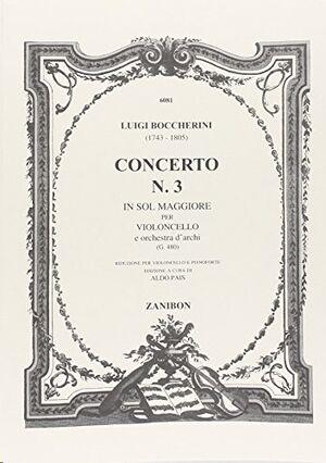 CONCERTO N.3 IN SOL MAGGIORE PER VIOLONCELLO