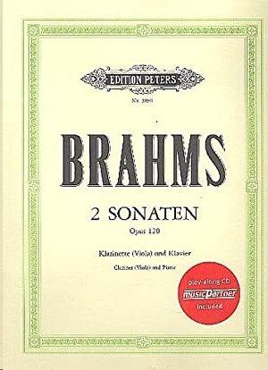 2 Sonaten op. 120 + CD klarinette (Viola) und klavier